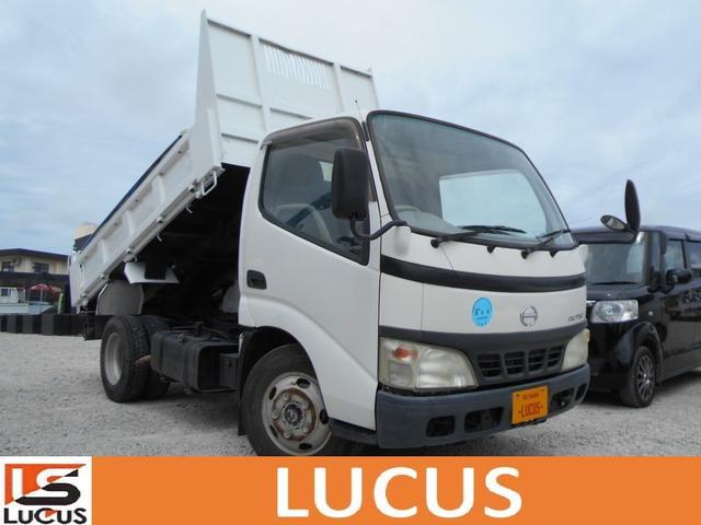 沖縄県の中古車ならデュトロ 3tダンプ 内地中古 MT エアコン 軽油