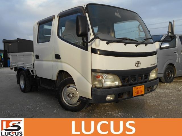 沖縄県の中古車ならトヨエース Wキャブ 最大積載量2000kg 4600cc 軽油 5MT ETC 6人乗り 内地中古
