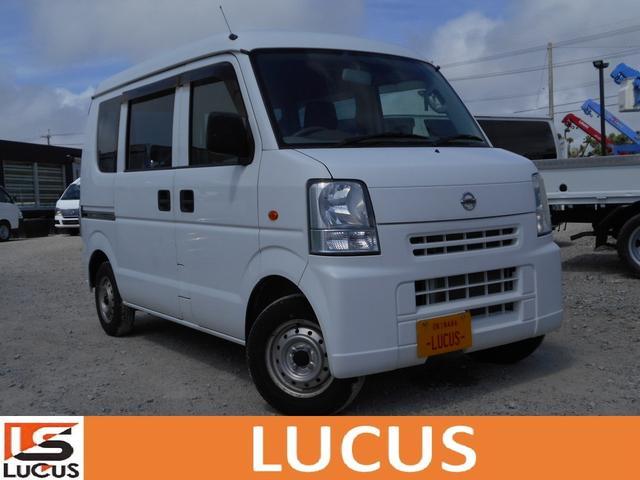 沖縄の中古車 日産 NV100クリッパーバン 車両価格 49万円 リ済別 2015(平成27)年 3.1万km ホワイト