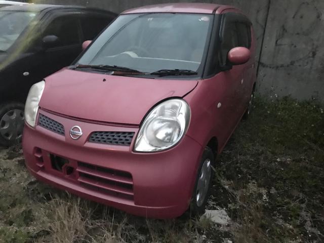 沖縄の中古車 日産 モコ 車両価格 6.8万円 リ済込 2006(平成18)年 11.6万km レッド