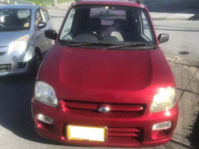沖縄の中古車 スバル プレオ 車両価格 5万円 リ済別 1999(平成11)年 16.3万km ピンク