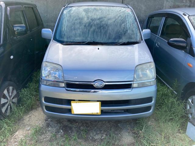 沖縄の中古車 ダイハツ ムーヴ 車両価格 7.8万円 リ済込 2006(平成18)年 14.4万km シルバー