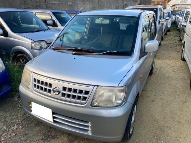 沖縄の中古車 日産 オッティ 車両価格 7万円 リ済込 2006(平成18)年 22.5万km シルバー