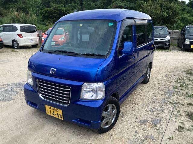 沖縄県豊見城市の中古車ならバモスホビオ ターボ