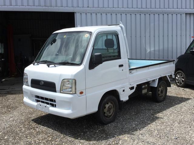 沖縄の中古車 スバル サンバートラック 車両価格 30万円 リ済込 2003(平成15)年 10.0万km ホワイトM