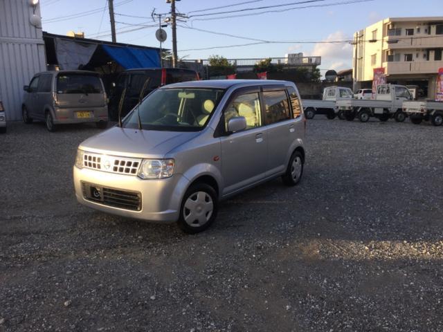 沖縄の中古車 日産 オッティ 車両価格 27万円 リ済込 2008(平成20)年 7.0万km シルバー