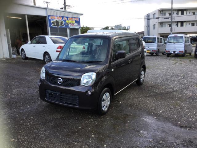 沖縄の中古車 日産 モコ 車両価格 35万円 リ済込 2011(平成23)年 9.4万km ブラウンII