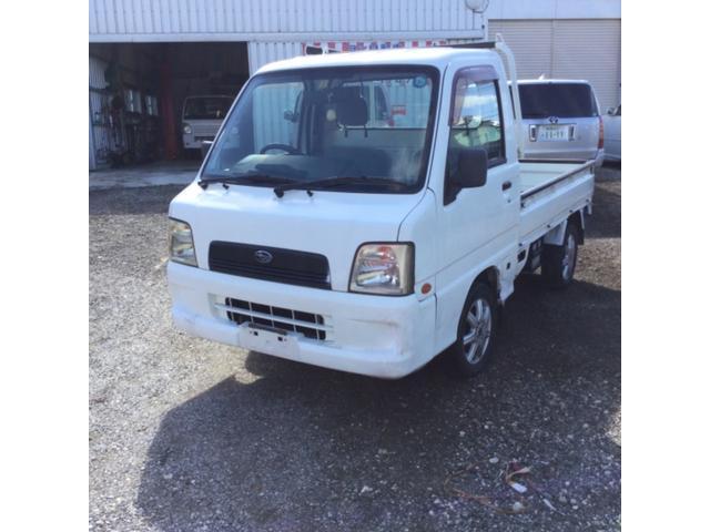 沖縄の中古車 スバル サンバートラック 車両価格 23万円 リ済込 2004(平成16)年 8.7万km ホワイト