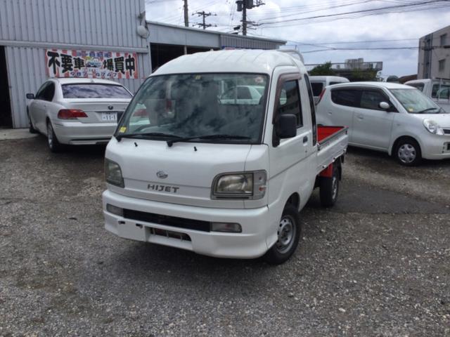 沖縄の中古車 ダイハツ ハイゼットトラック 車両価格 30万円 リ済込 2003(平成15)年 10.7万km ホワイト