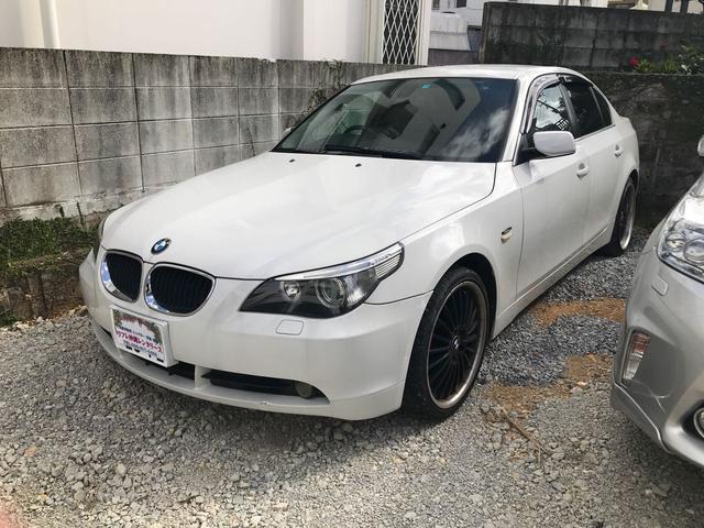 沖縄の中古車 BMW BMW 車両価格 20万円 リ済込 2004(平成16)年 12.8万km パールホワイト