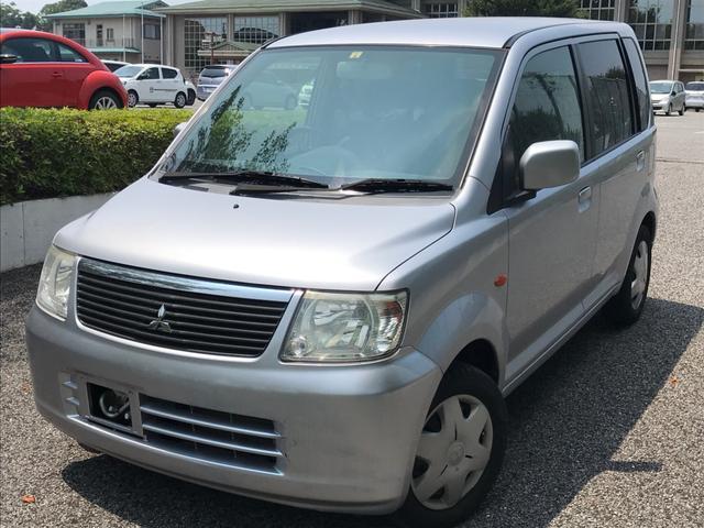 沖縄の中古車 三菱 eKワゴン 車両価格 19万円 リ済込 2006(平成18)年 3.7万km シルバー