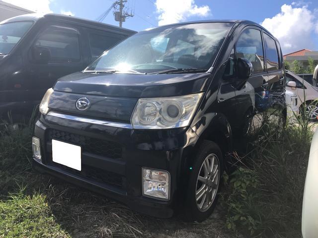 沖縄県の中古車ならムーヴ カスタム Xリミテッド・後期・整備保証付・内地車・記録簿付