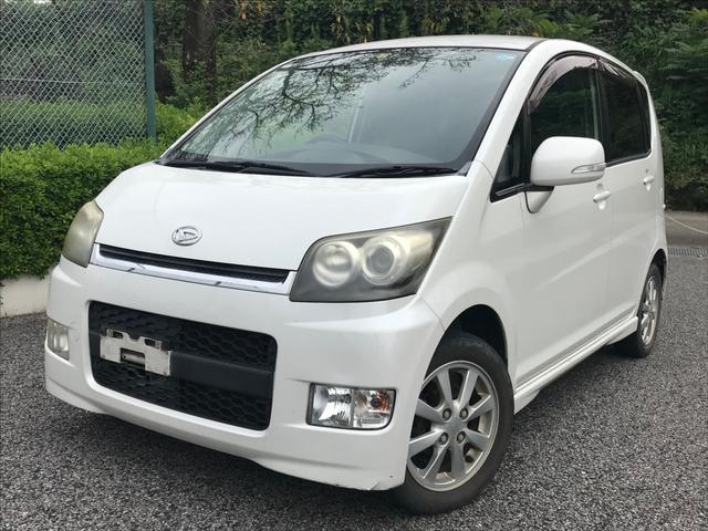 沖縄県の中古車ならムーヴ カスタム Xリミテッド・整備保証付・オルタネーター新品交換済