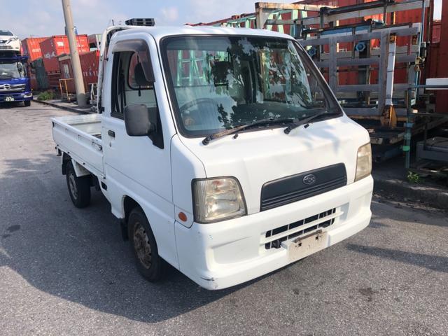 沖縄県の中古車ならサンバートラック TB・切替式4WD・5MT・内地車・整備保証付・PS・AC付