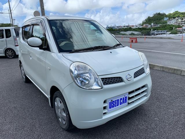 沖縄の中古車 日産 モコ 車両価格 18万円 リ済別・追 2006(平成18)年 10.7万km パールホワイト