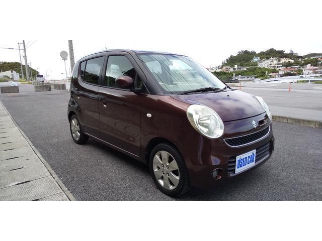 沖縄の中古車 スズキ MRワゴン 車両価格 22万円 リ済別・追 2007(平成19)年 10.5万km ブラウン