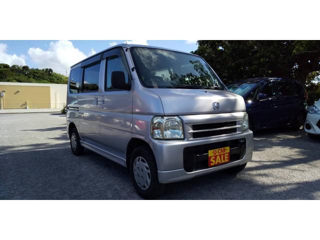 沖縄の中古車 ホンダ バモス 車両価格 24万円 リ済別・追 2002(平成14)年 13.2万km シルバー
