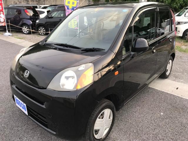 沖縄の中古車 ホンダ ライフ 車両価格 25万円 リ済別・追 2009(平成21)年 14.0万km ブラック
