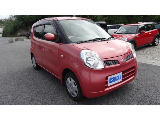 沖縄県の中古車ならモコ E 内地仕入 ピンク