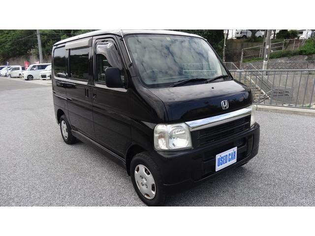 沖縄の中古車 ホンダ バモス 車両価格 25万円 リ済別・追 2006(平成18)年 13.5万km ブラック