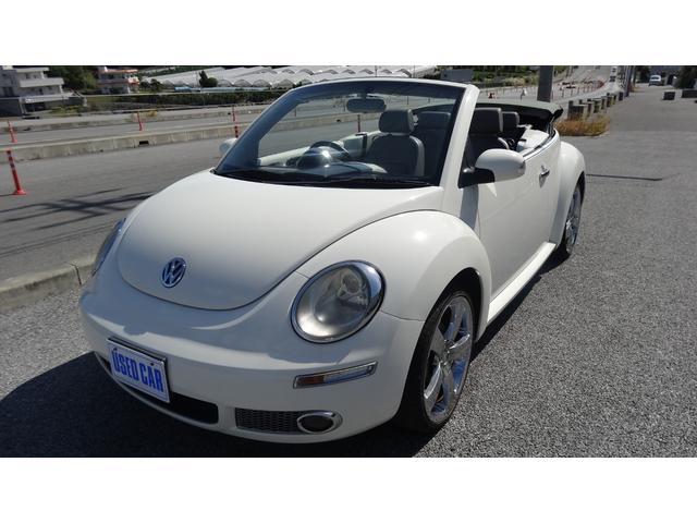 VW ニュービートルカブリオレ:沖縄県中古車の新着情報