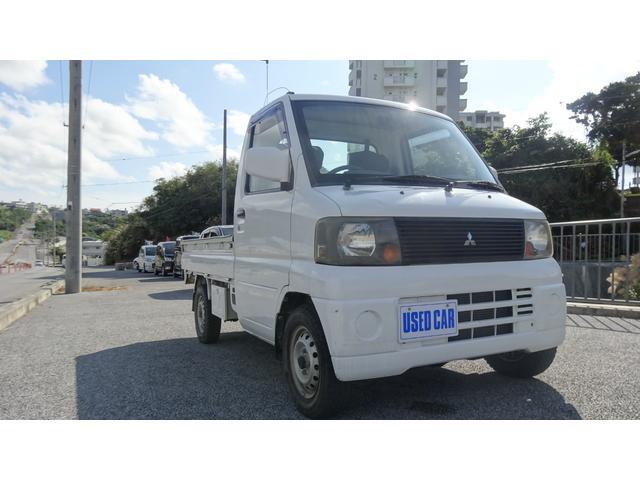 沖縄の中古車 三菱 ミニキャブトラック 車両価格 26万円 リ済別・追 2004(平成16)年 12.3万km ホワイト