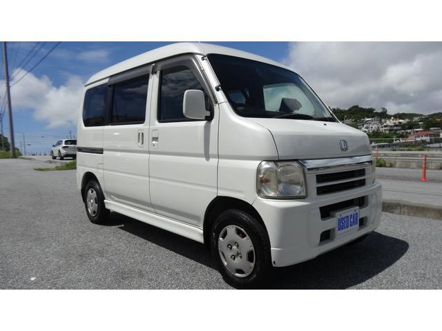 沖縄県の中古車ならバモスホビオ ターボ