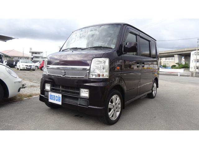 沖縄県豊見城市の中古車ならエブリイワゴン PZターボスペシャル 本土仕入れ中古車ディスチャージヘッドランプ付