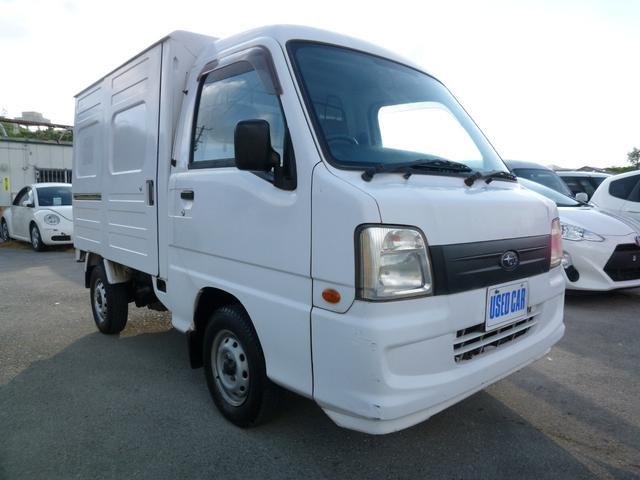 沖縄県の中古車ならサンバートラック VBパネルバン 本土仕入れ中古車 車検R3/11 ベルト交換済み