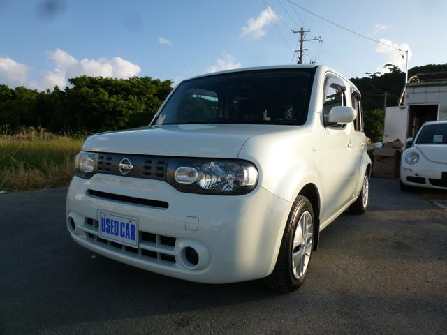沖縄県の中古車ならキューブ 15X インディゴ+プラズマ 本土仕入れ中古車