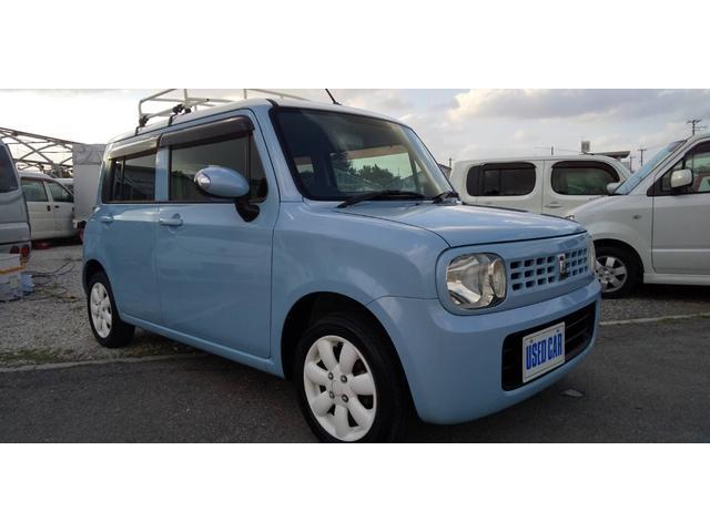 沖縄の中古車 スズキ アルトラパン 車両価格 33万円 リ済別・追 2009(平成21)年 12.9万km ツートン