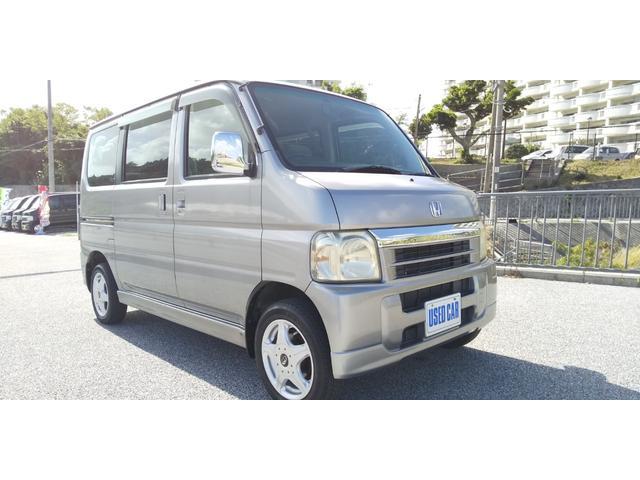 沖縄の中古車 ホンダ バモス 車両価格 25万円 リ済別・追 2004(平成16)年 13.2万km シルバー