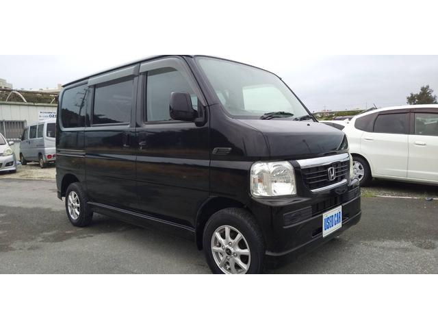 沖縄の中古車 ホンダ バモス 車両価格 33万円 リ済別・追 2007(平成19)年 14.2万km ブラック