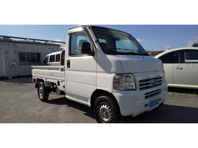 沖縄の中古車 ホンダ アクティトラック 車両価格 20万円 リ済別・追 2002(平成14)年 14.2万km ホワイト