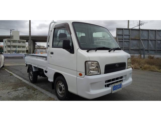 沖縄の中古車 スバル サンバートラック 車両価格 32万円 リ済別・追 2004(平成16)年 13.6万km ホワイト