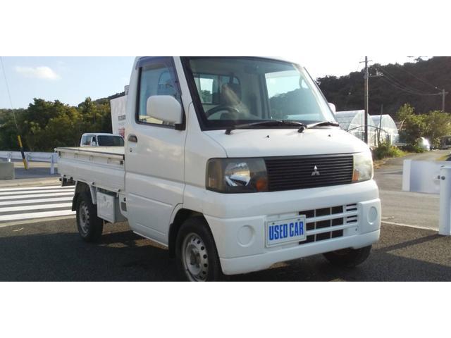 沖縄の中古車 三菱 ミニキャブトラック 車両価格 23万円 リ済別・追 2005(平成17)年 12.3万km ホワイト