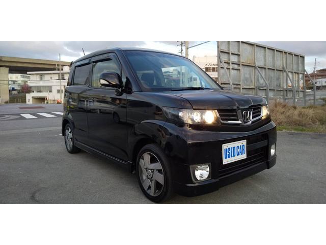 沖縄の中古車 ホンダ ゼストスパーク 車両価格 34万円 リ済別・追 2011(平成23)年 11.4万km ブラック