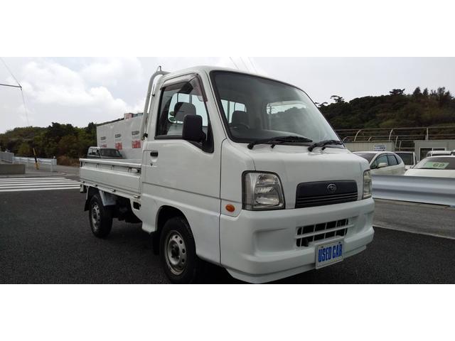 沖縄の中古車 スバル サンバートラック 車両価格 24万円 リ済別・追 2005(平成17)年 11.6万km ホワイト