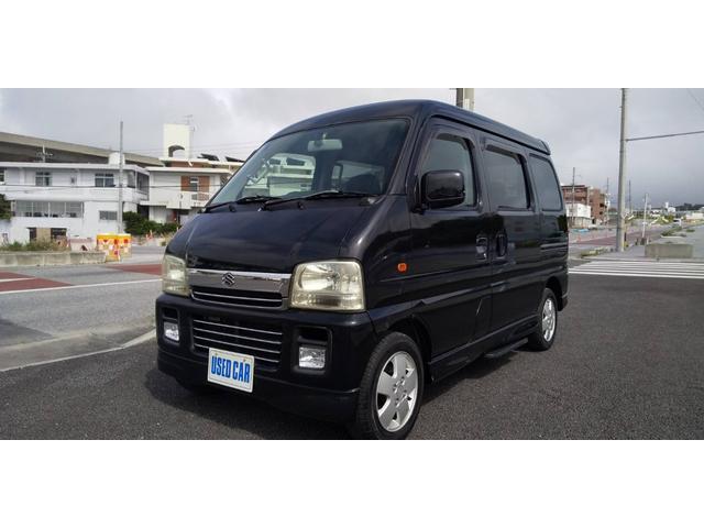 沖縄県の中古車ならエブリイワゴン ジョイポップターボPZ ハイルーフ 本土仕入れ車両