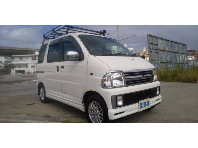 沖縄県の中古車ならアトレーワゴン カスタムターボ Gセレクション 本土仕入れ中古車