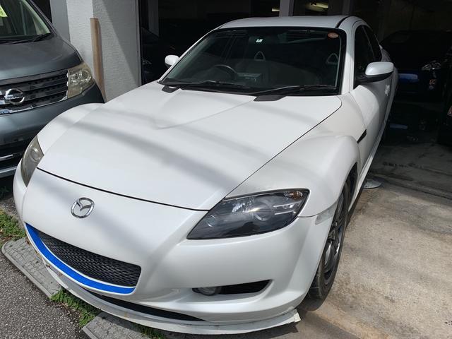 沖縄の中古車 マツダ RX-8 車両価格 53万円 リ済込 2006(平成18)年 6.4万km ホワイト