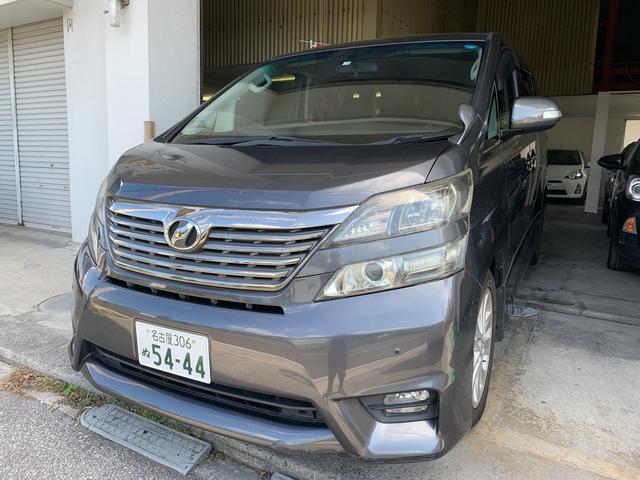 沖縄の中古車 トヨタ ヴェルファイア 車両価格 98万円 リ済込 2009(平成21)年 14.7万km ガンM