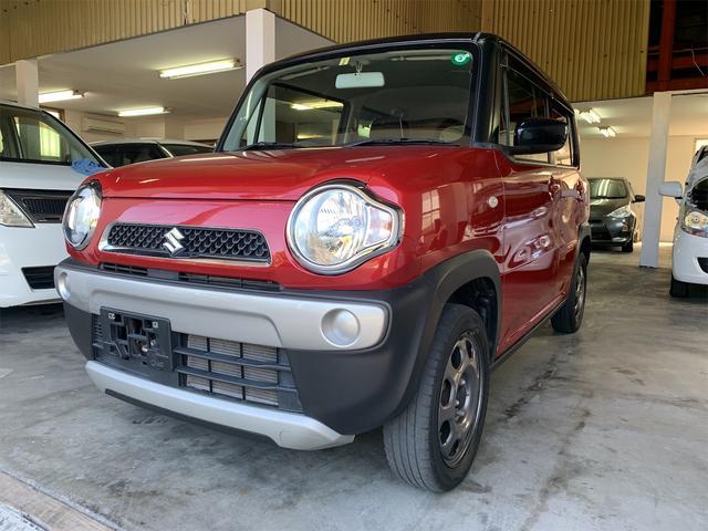 沖縄の中古車 スズキ ハスラー 車両価格 67万円 リ済込 2016(平成28)年 8.7万km レッド