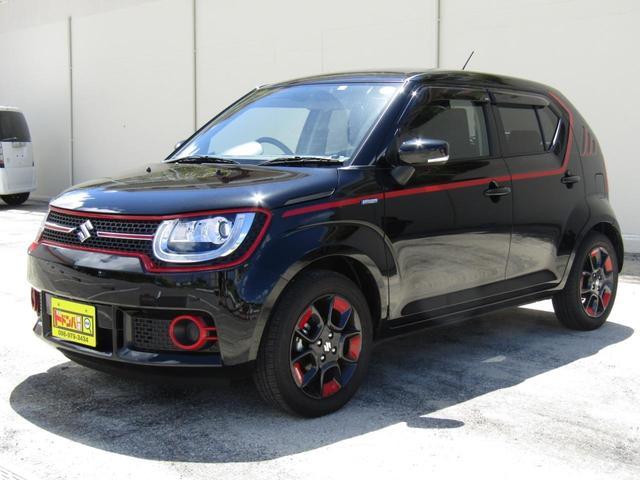 沖縄の中古車 スズキ イグニス 車両価格 129万円 リ済込 2018(平成30)年 0.5万km ブラック
