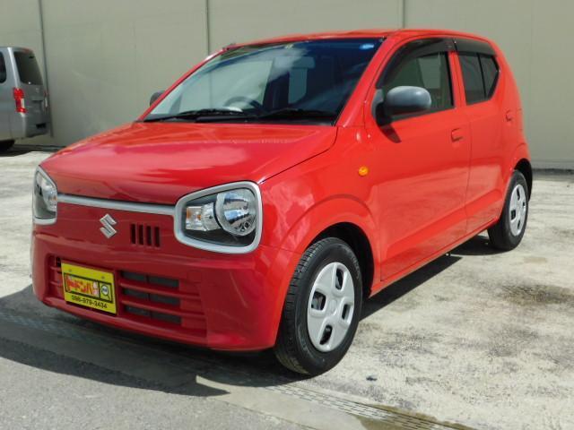 沖縄の中古車 スズキ アルト 車両価格 54万円 リ済込 2016(平成28)年 2.7万km レッド
