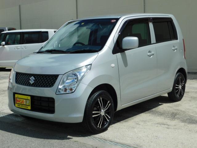 沖縄県の中古車ならワゴンR FX 低走行・新品社外アルミ