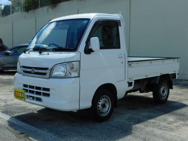 沖縄の中古車 ダイハツ ハイゼットトラック 車両価格 64万円 リ済込 2012(平成24)年 1.0万km ホワイト