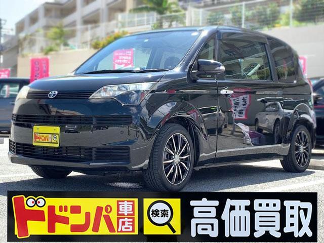 沖縄の中古車 トヨタ スペイド 車両価格 64万円 リ済別 2012(平成24)年 5.3万km ブラック