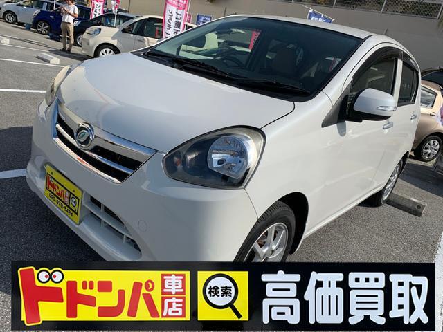 沖縄の中古車 ダイハツ ミライース 車両価格 41万円 リ済込 2012(平成24)年 7.2万km ホワイト