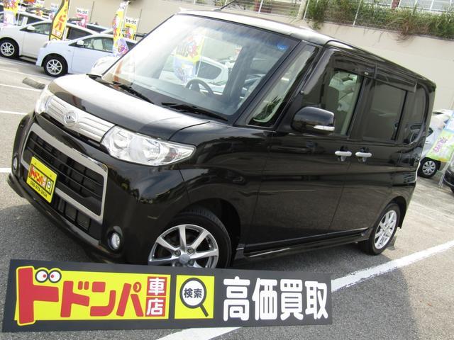 沖縄の中古車 ダイハツ タント 車両価格 59万円 リ済込 2013(平成25)年 7.7万km ブラック